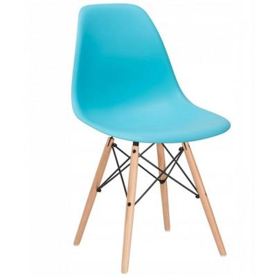 Dizajnová stolička SPRINGOS MILANO modrá