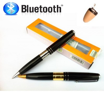 Bluetooth pero + Neviditeľné spy slúchadlo (set)