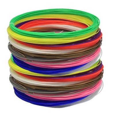 PLA sada strún pre 3D pera, 90 metrov, cez 10 farieb