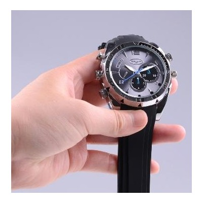 Špionážne hodinky s kamerou a diktafónom, 1920x1080px - 32GB