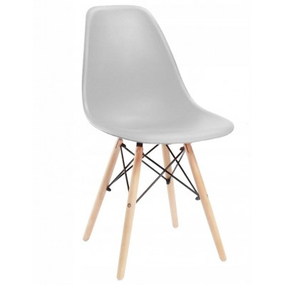 Dizajnová stolička SPRINGOS MILANO šedá