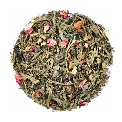 Zelený čaj Sakura 50g - (Sencha, Jasmín, Třešně, Růže)